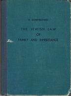 SCHEFTELOWITZ, ERWIN ELCHANAN: JEWISH LAW OF FAMILY AND INHERITANCE , TEL AVIV 1947 - Boeken, Tijdschriften, Stripverhalen