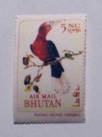 BHOUTAN  1968-69   LOT# 1  BIRD - Bhután