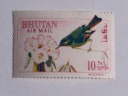 BHOUTAN  1968-69   LOT# 2  BIRD - Bhutan