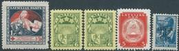 Litauen - Lituania -Latvia -1920 - 1927 -1940 - 1941 - Stamps Mix MNH - Lituanie