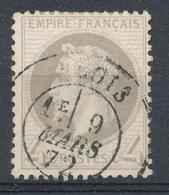 N°27 NUANCE OBLITERATION - 1863-1870 Napoleon III With Laurels