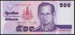 500 Baht Golden Jubilee 50. Tronjubilaeum 1996 UNC - Thaïlande