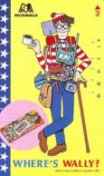 Télécarte Japon - WHERE'S WALLY ? (1) -  COMICS Japan Phonecard Telefonkarte - BD