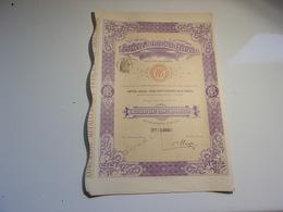 Compagnie Métallurgique Française De Désétamage (1909) - Unclassified
