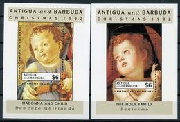 Antigua Und Barbuda MiNr. Block 243-44 Postfrisch MNH Weihnachten (Wei518 - Antigua Et Barbuda (1981-...)