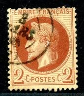 Frankreich MiNr. 25 Gestempelt Napoleon (AK1394 - 1849-1850 Cérès