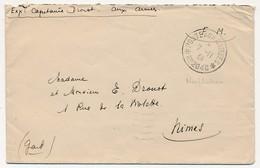 """Enveloppe - Cachet Secteur Fictif """"Poste Aux Armées N°2048"""" - 1939 - Neufchateau - Marcophilie (Lettres)"""