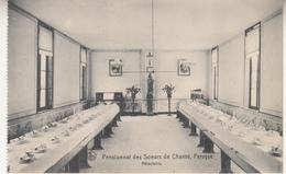 Pensionnat Des Soeurs De Charité, Pervyse - Refter - Uitg. Nels, Brussel - Kaart Uit Een Boekje - Ecoles