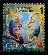 Serbie - Serbia - Serbien 2014 Y&T N°545 - Michel N°548 (o) - 1d Communication - Serbie