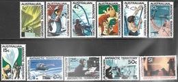 AAT  1966-8  Sc#L8-18 MNH   2016 Scott Value $56.25 - Territoire Antarctique Australien (AAT)