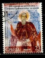 Serbie - Serbia - Serbien 2017 Y&T N°(1) - Michel N°756 (o) - 23d Saint Stefan - Serbie