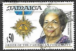 Jamaica  1995  Sc#846  $50  Nita Barrow  Used   2016 Scott Value $4.50 - Jamaica (1962-...)