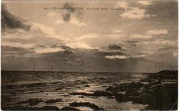 5ME 420. ILE DE NOIRMOUTIER - POINTE DE DEVIN COUCHER DU SOLEIL - Ile De Noirmoutier