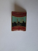 Romania Collector Badge From 1980,size=18 X 14 Mm - Autres