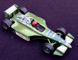 "Voiture Miniature  "" Collector "" Mc Donald's Jaguar - HotWheels"