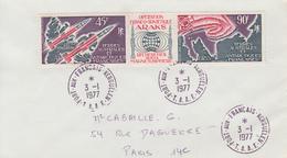 Enveloppe   T.A.A.F    Oblitération    PORT  AUX  FRANCAIS     KERGUELEN    1977 - Terres Australes Et Antarctiques Françaises (TAAF)