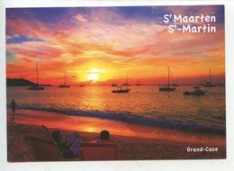 Sint Maarten (saint Martin) Netherlands Antilles - Française - Grand Case (coucher De Soleil) - Antilles Neérlandaises