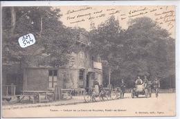 TIGERY- FORET DE SENART- LE CHALET DE LA CROIX DE VILLEROY - France