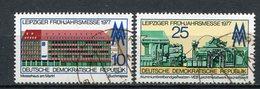 DDR Nr.2208/9           O  Used       (21684) ( Jahr: 1977 ) - DDR