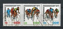 DDR Nr.2216/8 Streifen           O  Used       (21689) ( Jahr: 1977 ) - DDR