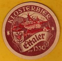 Sous-bock Cartonné - Bière - Allemagne - Klosterbier Ettaler - Années 60 - Beer Mats