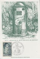 Carte  Maximum   40éme  Anniversaire  De  La  LIBERATION     MORTAIN    1984 - WW2