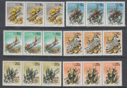 D101225 South West Africa 1978 Namibia CACTII = UNIVERSAL SUFFRAGE Opt MNH Set  - SWA Namibia Namibie Afrique Da Sud - Namibia (1990- ...)