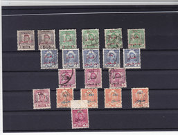 Iraq PALESTINE TAXE Stamps,lot Of 20 Used Stamps Diff.settings, Letters,colors,Perforart,etc...Rare-Cat Value More 400 E - Iraq