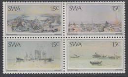 D111201 South West Africa 1975 Namibia SWA PAINTINGS SCHRODER MNH Block  - SWA Namibie - Namibie (1990- ...)