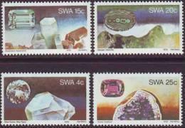 D90819 South West Africa 1979 GEMS DIAMONDS MNH Set  - SWA Namibia Namibie Sudwes Afrika - Namibia (1990- ...)
