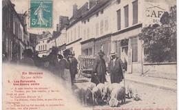 21 Côte D'Or -  En MORVAN - Un Jour De Foire - Les Porcelets - Ed.  Saulieu - Kirmes