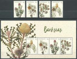 AUSTRALIE 2018 - Banksias (série+bloc) - 2010-... Elizabeth II