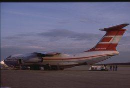 SLIDE / AVION / AIRCRAFT   KODAK  ORIGINAL  AEROFLOT  IL 76  CCCP 76479 - Diapositives