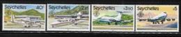Seychelles 1981 International Airport 10th Anniversary Airplane MNH - Seychelles (1976-...)
