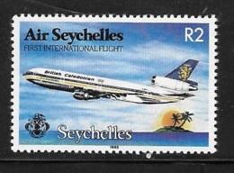 Seychelles 1983 First Int'l Air Seychelles Flight MNH - Seychelles (1976-...)