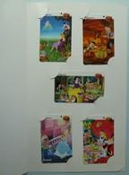 SINGAPORE - Telecom - GPT - Kodak Disney 1995 - 3SKDA To E - Set Of 5 - Alice, Cinderella, Snow White.....Mint In Folder - Singapur