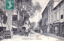 24 - Dordogne - LALINDE - La Grand Rue - RARE - Frankreich