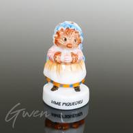 Feve Beatrix Potter Prototype Hérisson Mme Piquedru Miniature Porcelaine Brillante - Cartoons