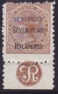 New South Wales 1891 P.10 SG 267 Mint Hinged - Mint Stamps