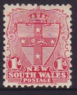New South Wales 1897 Die II P.12 SG 290b Mint Hinged - Mint Stamps