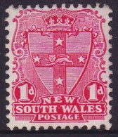 New South Wales 1897 Die II P.12x11.5 SG 290a Mint Hinged - Mint Stamps