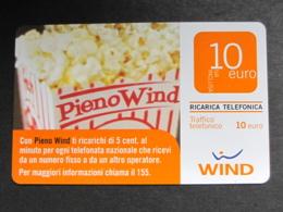 ITALIA WIND - PIENO WIND - 31/12/2011 PUBLICENTER USATA - Schede GSM, Prepagate & Ricariche