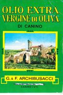 P91357 OLIO  ARCHIBUSACCI CANINO VITERBO - Pubblicitari
