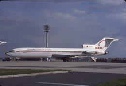 SLIDE / AVION / AIRCRAFT   KODAK  ORIGINAL      ROYAL AIR MAROC  B 727  CN-RMR - Diapositives