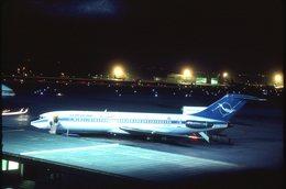 SLIDE / AVION / AIRCRAFT   KODAK  ORIGINAL      SYRIANAIR  B 727  YK-AGC - Diapositives