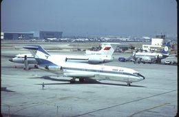 SLIDE / AVION / AIRCRAFT   KODAK  ORIGINAL      IRAN AIR  B 727  EP-IRB - Diapositives