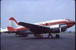 SLIDE / AVION / AIRCRAFT   KODAK  ORIGINAL     SEVA COLOMBIA  C 46  HK-851 - Diapositives