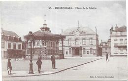 ROSENDAEL: PLACE DE LA MAIRIE - Other Municipalities