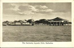 L 368 - Barbade- The Barbados Aquatic Club - Cartes Postales