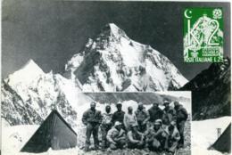 TRENTENNALE CONQUISTA ITALIANA K2  Mountaineering Autografo Autograph LINO LACEDELLI - Autografi